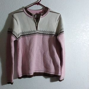 100% combed cotton Sweater double thick